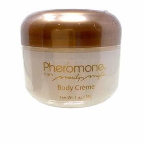 New Marilyn Miglin Pheromone Body Creme Scented 1 oz Small Jar Sealed